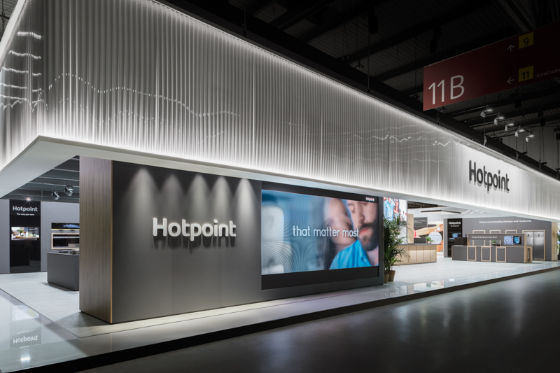 Hotpoint Booth at Eurocucina 2018
