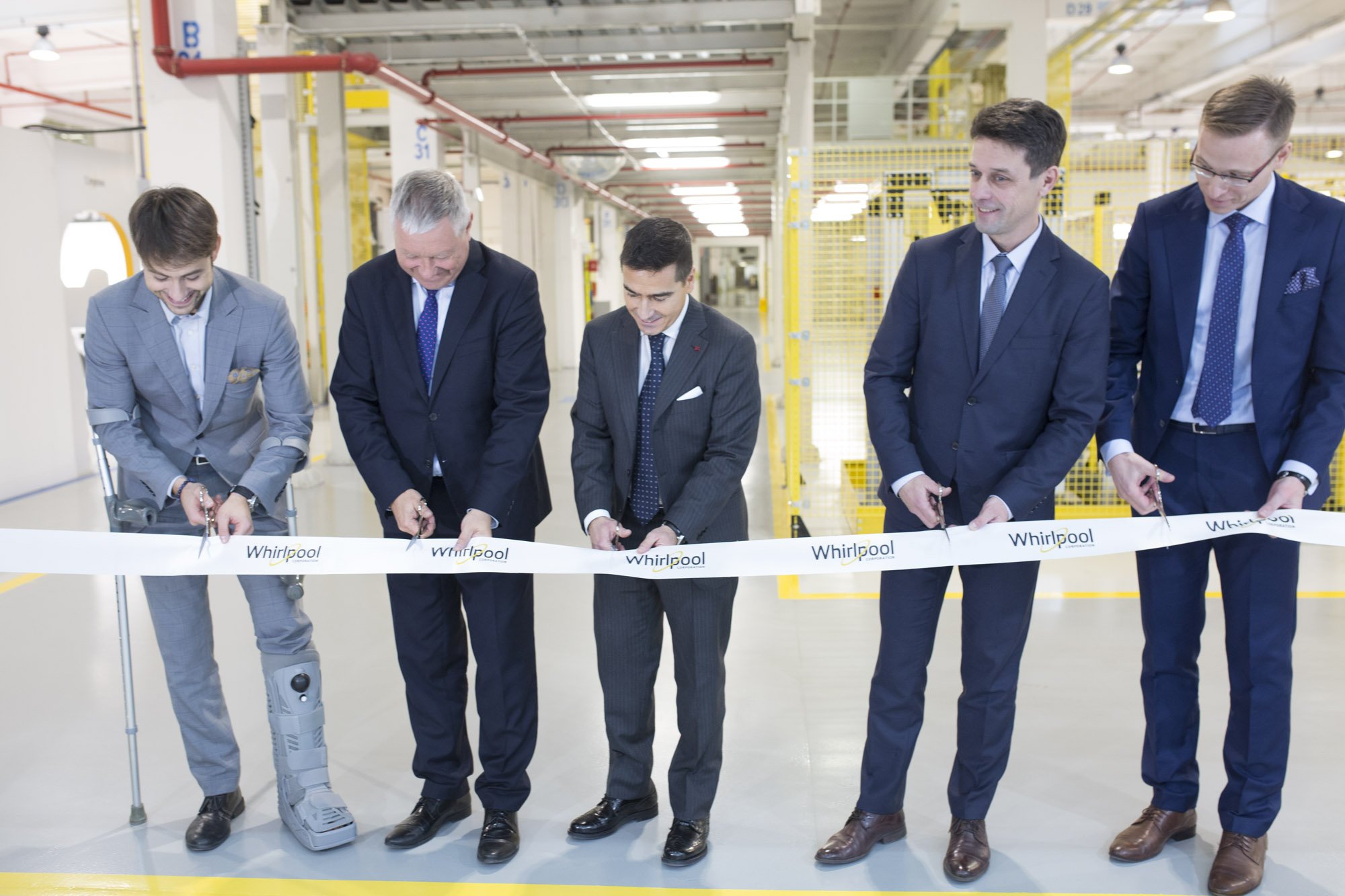 Opening of a new plant for dryers in Łódź