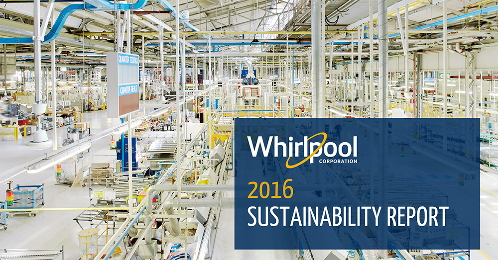 Whirlpool Corporation - 2016 Sustainability Report