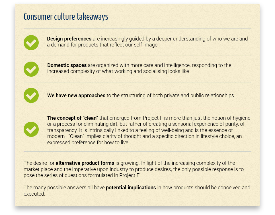 Consumer culture takeaways - Global Consumer Design Whirlpool