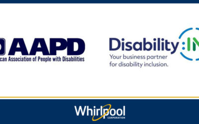 Whirlpool Corporation Named 2018 Disability Equality Index® Best Places to Work