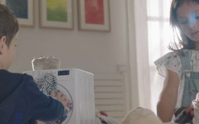Big or small – Indesit says everyone can help with housework – and win prizes too!