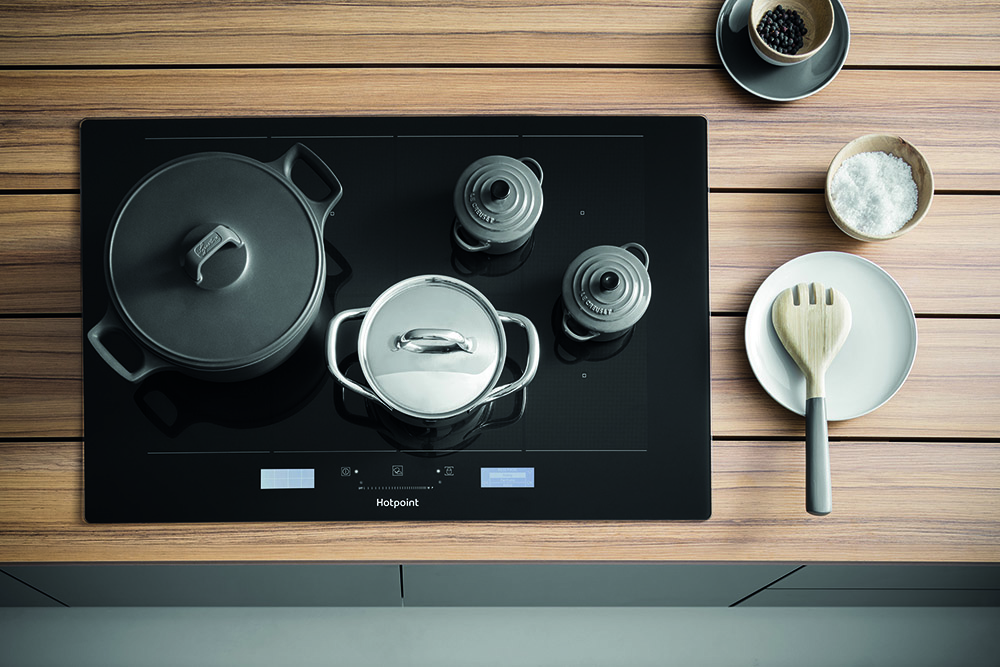 Hotpoint Induction Hobs with Active Cook mode