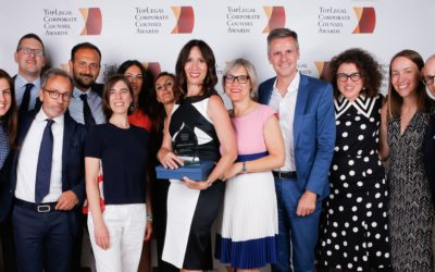 "Whirlpool's EMEA Legal Team receives ""International Team of the Year"" award at the 2018 TopLegal Corporate Counsel Awards"
