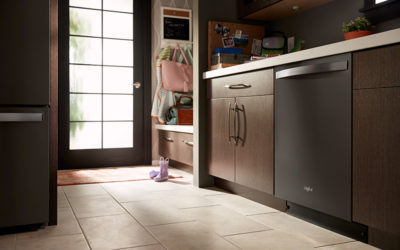 Find Extra Room in Cleaning Routines with Whirlpool® Smart ENERGY STAR® Certified Dishwasher with Third Level Rack