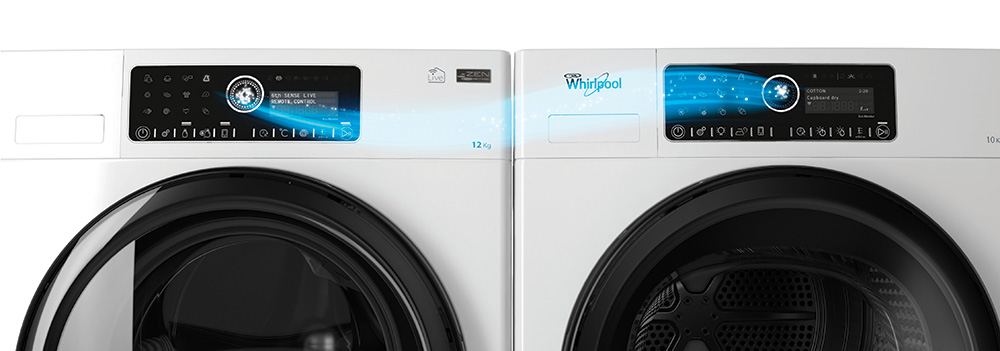 Whirlpool Supreme Care Live Washer and Dryer - Get Connected Award