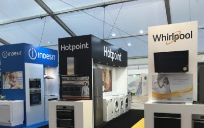 "Whirlpool UK wins the ""Stand of the Year"" award at the Sirius Show"
