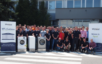 Whirlpool's Poprad site passes the first World Class Manufacturing audit