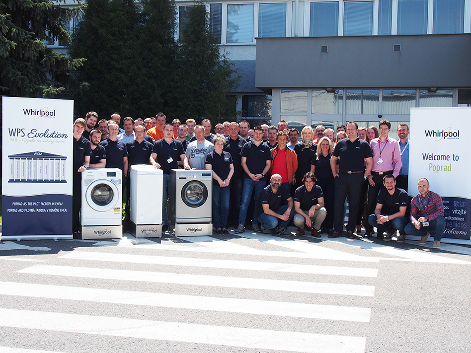 Whirlpool Poprad factory passed the first World Class Manufacturing audit