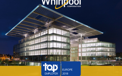 Whirlpool EMEA certified Top Employers Europe 2018