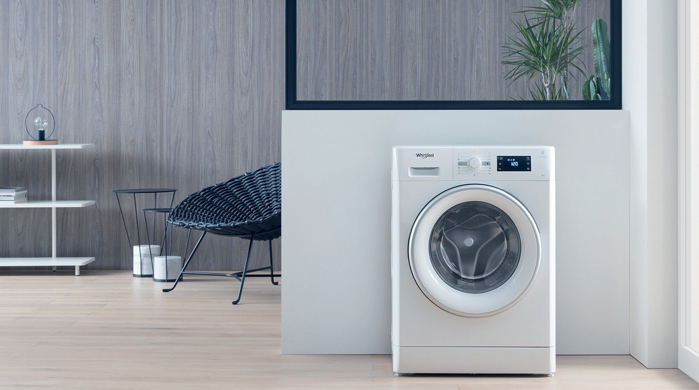 Whirlpool FreshCare+ built-in washer dryer