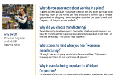 Women in Manufacturing Spotlight: Amy Doroff