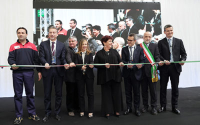 Whirlpool opens its new model plant in Melano