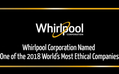Whirlpool Corporation Named One of the 2018 World's Most Ethical Companies®