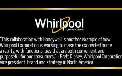 Whirlpool Corporation announces collaboration with Honeywell