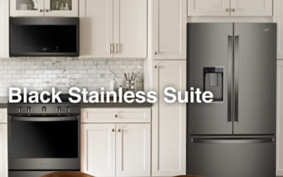 Whirlpool® Introduces Fingerprint Resistant Black Stainless Steel  Kitchen Suite with Matte Finish