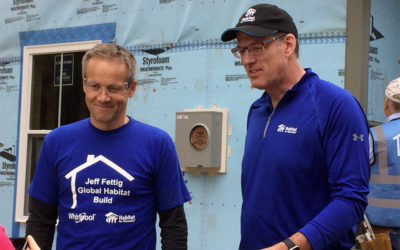 Whirlpool Corporation's Global Habitat Build Honors the 13-Year Tenure of Former CEO Jeff Fettig