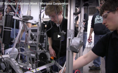 Whirlpool Corporation Celebrates National Volunteer Week and FIRST Robotics