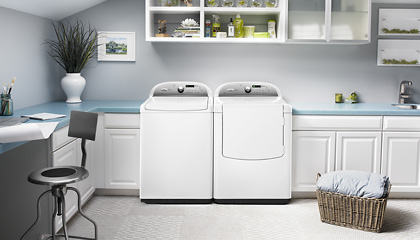 1st Energy/Water-Efficient Top Load Washer