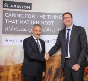 Ariston strengthens its growth in Egypt