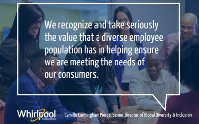 Whirlpool Corporation named a Best Employer for Diversity in 2019