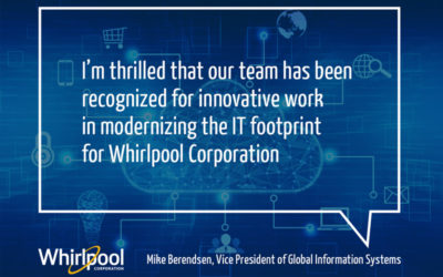 Whirlpool Corporation Receives 2019 CIO 100 Award