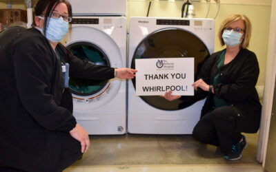 Whirlpool Corp Helps Hospitals Keep Clean with Laundry Machine Donations