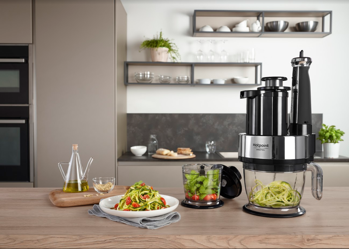 Hotpoint - Creative Blender with Spiralizer 01