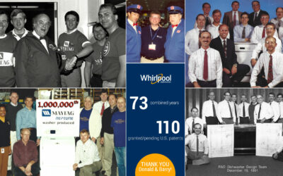 Long-serving Whirlpool Engineers Reflect on Prolific Careers, Highlight Importance of Protecting Intellectual Property