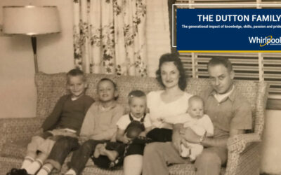 From 1955 to 2020, the Dutton Family has been a Part of Whirlpool Corporation's Marion Operations