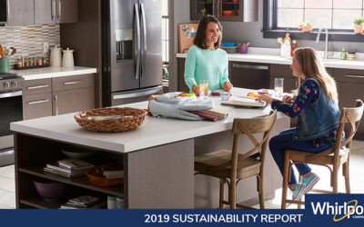 Whirlpool Corporation Raises the Bar for Environmental Commitment and Progress in 2019 Sustainability Report