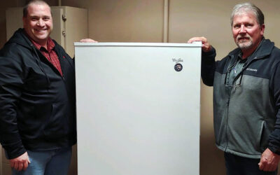 Whirlpool Corporation Donates Freezer to Help Findlay Water Employees Quarantine at Work
