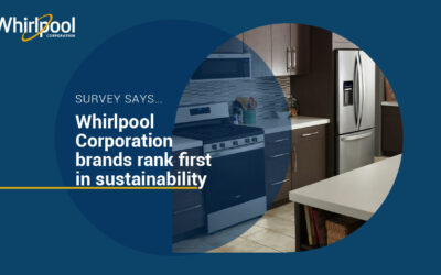 New Survey Ranks Whirlpool Corporation Most Sustainable Appliance Company