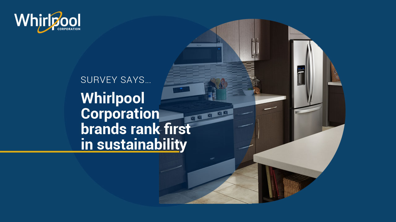 Whirlpool Corp Brands Most Sustainable Appliances