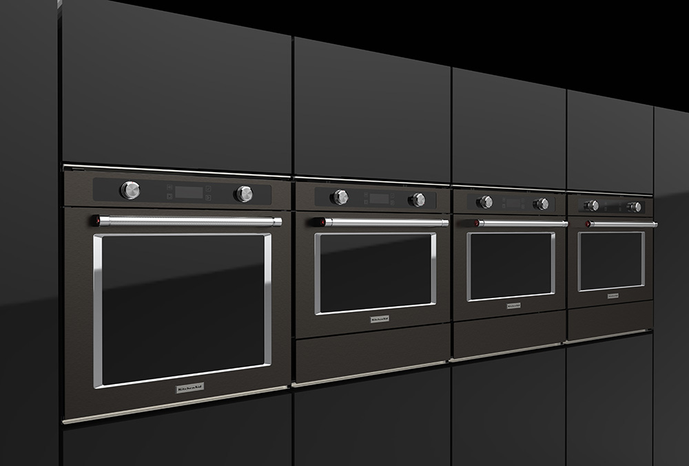 KitchenAid Built-In Black Collection