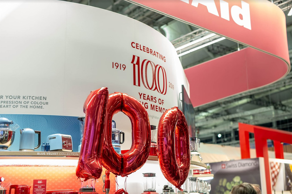 KitchenAid Celebrates 100 years at Ambiente 2019