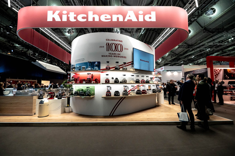 KitchenAid Celebrates 100 years of making history at Ambiente 2019