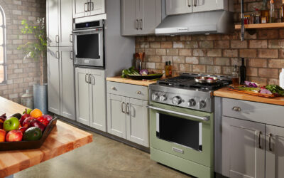 KitchenAid Brand Debuts New Commercial-Style Range in Nine Expressive Colors