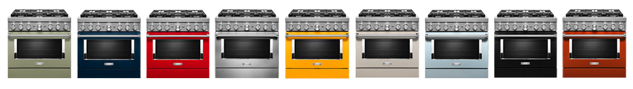 KitchenAid Commercial-Style Colors