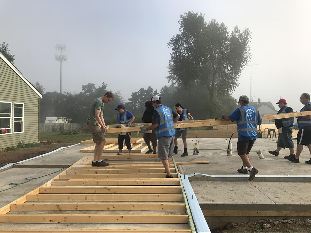 Whirlpool Corporation Employees Make Trip to Lafayette, Indiana for Habitat Build 2