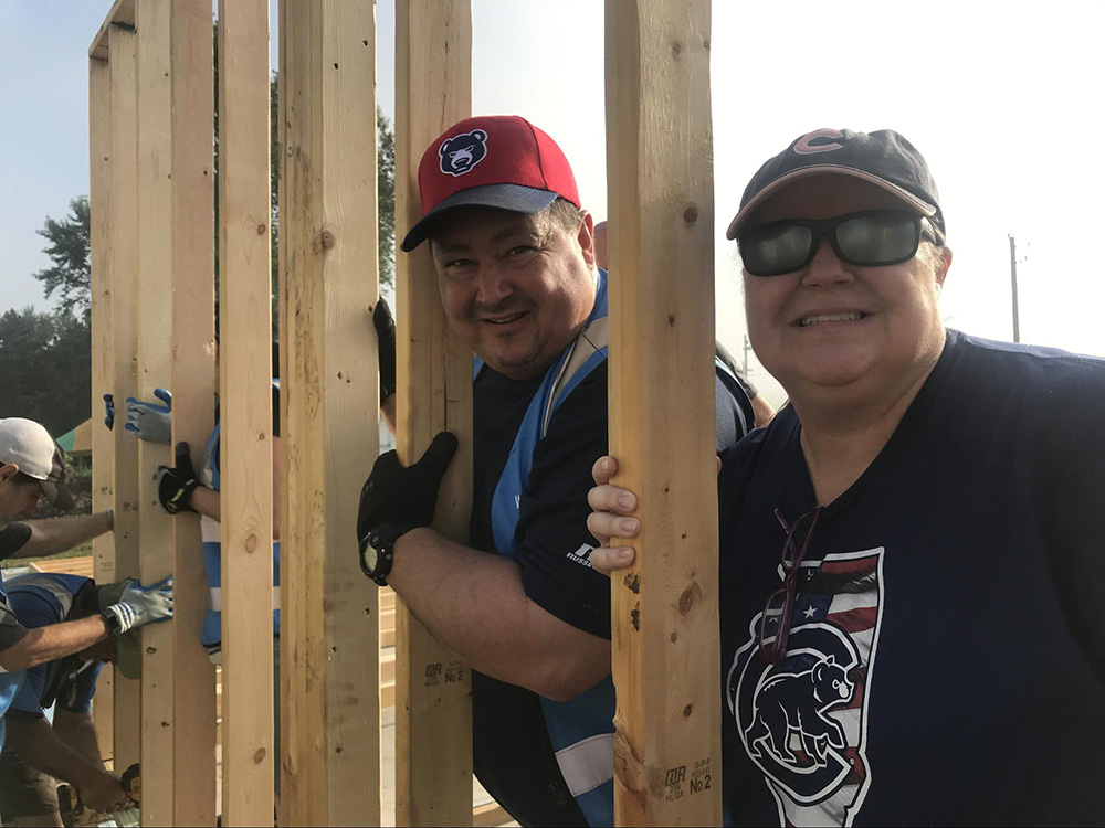 Whirlpool Corporation Employees Make Trip to Lafayette, Indiana for Habitat Build 3