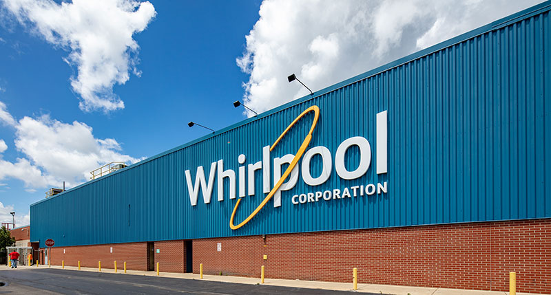 Whirlpool Corporation Environmental Engineers Improve Sustainable Footprint Equivalent of Forty-six Olympic-sized Pools 1