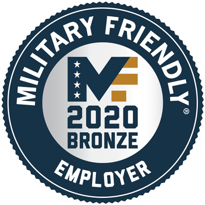 Military Friendly Employer Bronze - 2020