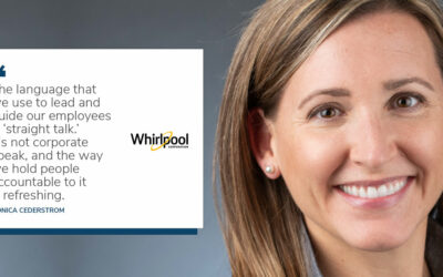 'Uncharted Territory', New VP of Human Resources Monica Cederstrom talks about joining Whirlpool Corp during a pandemic