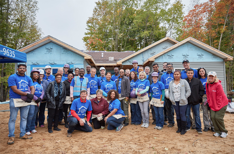 NAR CSR Project - Habitat for Humanity