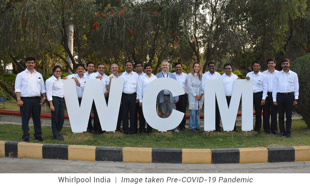 World Class Manufacturing, India, Whirlpool Corporation