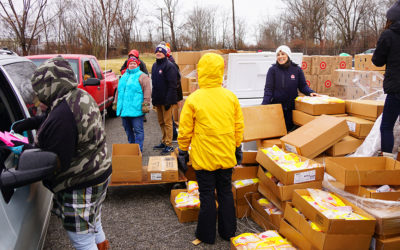 Warmth and Generosity for Local Residents in the Chill of Winter