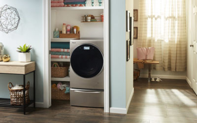 Transfer-Free Convenience: Whirlpool Brand Introduces CES® Innovation Award Honoree Smart All-In-One Washer & Dryer