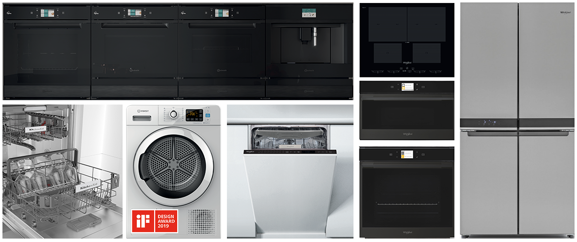 Whirlpool EMEA wins six prestigious iF Awards for Design Excellence with KitchenAid, Whirlpool, Bauknecht and Indesit brands
