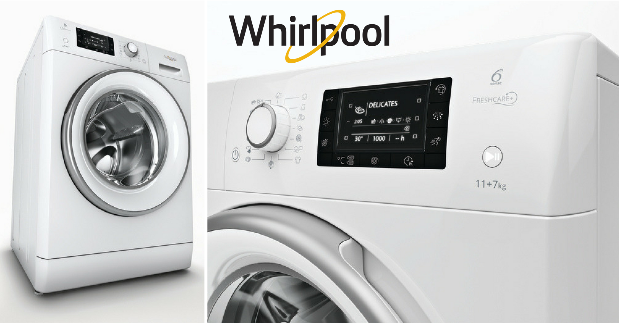 Whirlpool Fresh Care+ washer dryer
